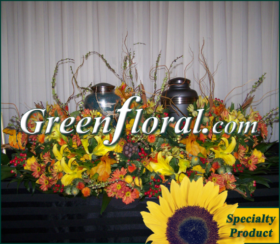 Cremation Urn: The R.T. Caldwell Double Urn Design