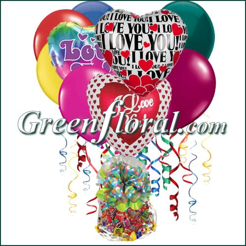 The I Love You Balloon Bunch