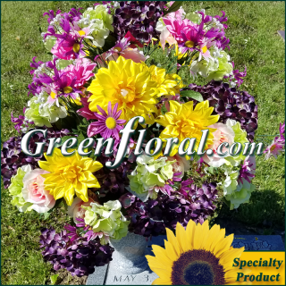 Silk Cemetery Arrangement-FFCEM-1000-51