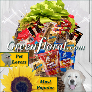 The Etta T. Dog Gift Basket