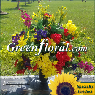 Silk Cemetery Arrangement-FFCEM-1000-31