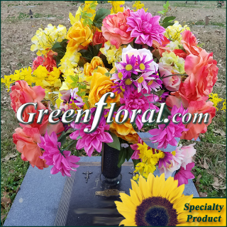 Silk Cemetery Arrangement-FFCEM-1000-41