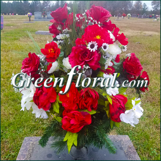 Silk Cemetery Arrangement-FFCEM-1000-39