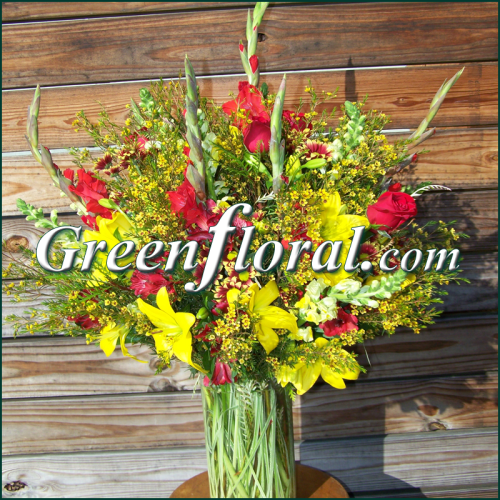 The Huntersville Garden Design Vase