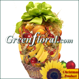 The Fruitful Affair Christmas Basket