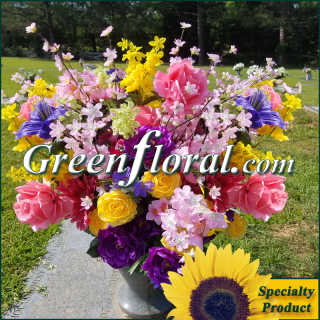 Silk Cemetery Arrangement-FFCEM-1000-22