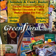 Our Designer\'s Chocolate & Candy Basket