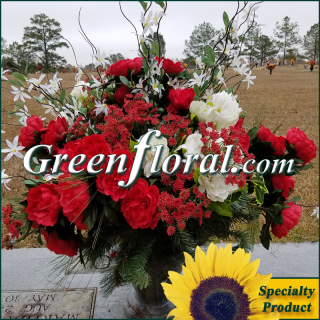 Silk Cemetery Arrangement-FFCEM-1000-17
