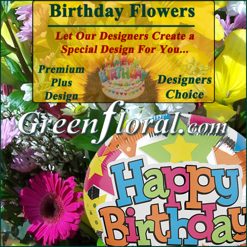 Our Designer\'s Happy Birthday Design Choice Premium Plus