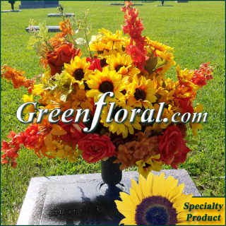 Silk Cemetery Arrangement-FFCEM-1000-47