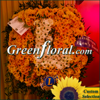 The Lions Floral Emblem-`Mississippi`