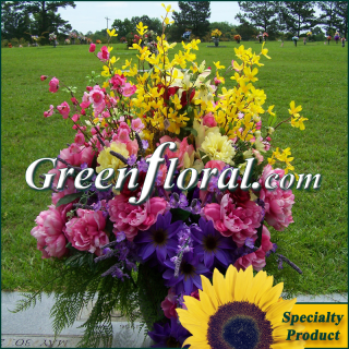 Silk Cemetery Arrangement-FFCEM-1000-12