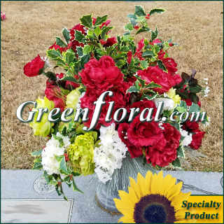 Silk Cemetery Arrangement-FFCEM-1000-50