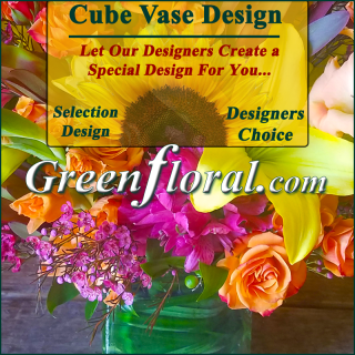 Our Designer\'s Cube Vase Design