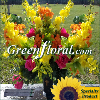 Silk Cemetery Arrangement-FFCEM-1000-20