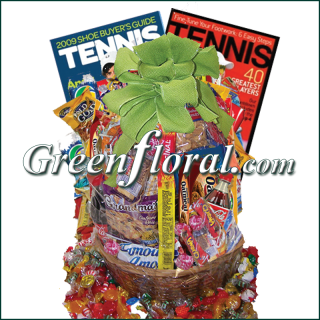 Tennis Junk Food Basket