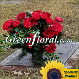 Silk Cemetery Arrangement-FFCEM-1000-18