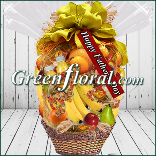 The Father`s Day Ole Fashion Fruit Basket